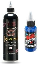 Irezumi Japanese Tattoo Outlining Ink 12oz Plus 1 Bottle Mom's Ink 1/2 oz