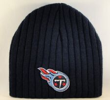 Tennessee Titans NFL Ribbed Knit Beanie Hat Navy