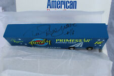 The American Racing Scene NASCAR Ted Musgrave #16 NIB toy truck *AUTOGRAPHED*.