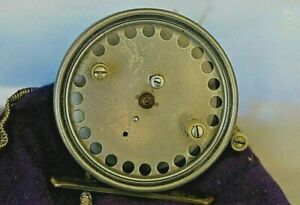 """Vintage Hardy Collectable 'The Silex Major' 3 1/8"""" Casting/Fly Reel"""