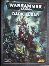 Warhammer 40,000 Codex Dark Eldar OOP 2010