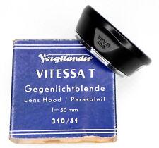 Voigtlander 310/41 40.5mm Hood for Vitessa T 50mm  #Box 3 ......... Minty w/Box
