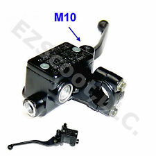 HYDRAULIC BRAKE MASTER CYLINDER RIGHT 22MM LEVER M10 GY6 SCOOTER MOPED TAOTAO