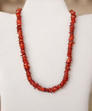 """16"""" 10mm Baltic Amber Chip Nugget Bead Necklace PASS HEAT ACID FLOAT TEST ac41"""