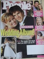 december 2003 People Magazine Trista & Ryan's Wedding Album + Nicole Richie