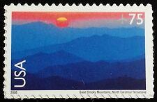 2006 75c Great Smoky Mountains, North Carolina/Tennessee Scott C140 Mint F/VF NH