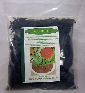 Deco - Mulch Rubber Mulch 250g in Blue, Green or Brown. 40% OFF SELLING PRICE.