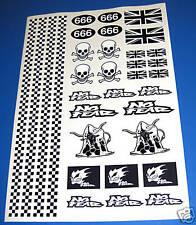 RC Rat Look stickers decals Mardave Tamiya HPI Losi