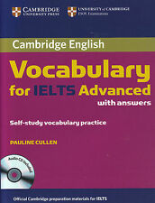 Cambridge VOCABULARY for IELTS Advanced w Answers & Audio CD Self-Study @NEW@