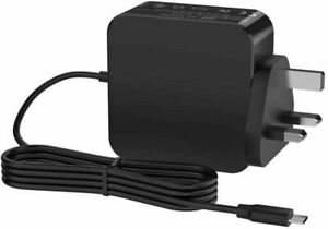 For HP CHROMEBOOK 14-DB0500SA Notebook 65W PSU Type-C AC Adapter Charger