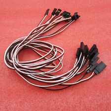 50cm 3 Pin Male to Female Servo Extension Cord Lead Wire For RC Model 10pcs