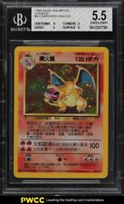 2000 Pokemon Chinese Base Holo Charizard #4 BGS 5.5 EX