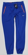 NWT Nike Conversion Polyknit Tapered Athletic Pants MENS LARGE Blue Polyester