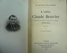 L' abbé Claude Bouvier, professeur à l' église St Maurice de Vienne
