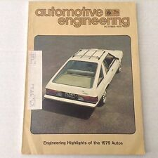 Automotive Engineering Magazine Trip Computer Car October 1978 061217nonrh