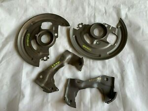 1968-1972 A Body Front Disc Brake Backing Plates & Caliper Brackets GM Stampings