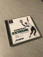 sampras extrême tennis playstation 1 PS1 PAL FR TBE