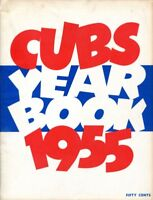 Chicago Cubs 1955 MLB Baseball Yearbook