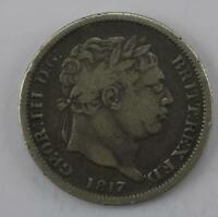 1817 1 Shilling Silver coin George III