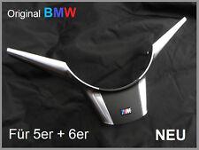 Orig. BMW Lenkradspange CHROM silber E60 E61 E63 E64 M5 Blende MFL +M Logo NEU