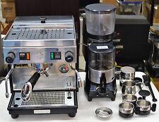 Pasquini Livia 90 Semi-automatic Espresso Machine & Moka 90 Coffee Grinder Combo