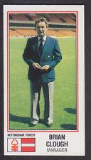 Panini - Football 83 - # 199 Brian Clough - Nottingham Forest