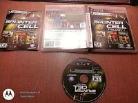 Sony PlayStation 3 PS3 CIB Complete Tested Splinter Cell Trilogy Ships Fast
