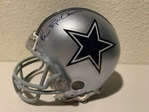 "Michael Irvin Signed ""Playmaker"" Dallas Cowboys Mini Helmet Steiner"