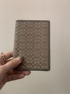 coach passport wallet New