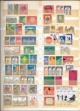 Alemania Federal. Sellos, Hojas Bloques y Carnet Años 1970/1984 valor 1051 Euros