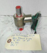 New Peter Paul 12vdc Solenoid valve EL53Z00?YCCM, 120psi, 1/8npt, 3way