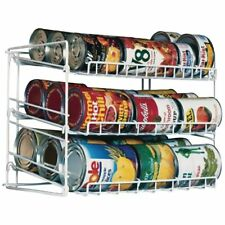 Canned Food Can Rack Kitchen Cabinet Cupboard Pantry Organizer Holder BestD