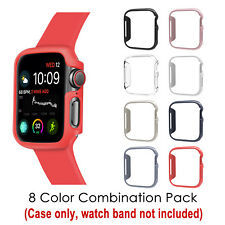 867f24587c42  8 Color Pack  for Apple Watch 4 Case 40mm 2018 iWatch Series 4 Slim