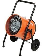 Portable Electric Heater - 240 Volts - 1 Phase - 51,180 BTU - 1,500 CFM - Floor