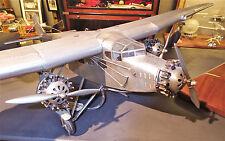 """""""nuevo"""" avión modelo Ford Trimotor de 1926, mano de trabajo modelo de metal"""