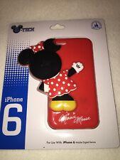Disney Theme Parks D-Tech Minnie Mouse peek-a-boo Clip Case Iphone 6 NEW