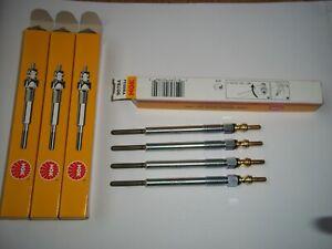 4 NGK 90784 GlowPlugs For Vauxhall 1.3 CDTi Astra, Corsa, Meriva etc