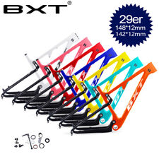 Full suspension Carbon Mountain Bike Frames 29inch Bicycle Frame148*12mm boost