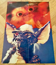 GREMLINS 1984 Swedish Poster Magazine Okej 1980s Vintage Rare