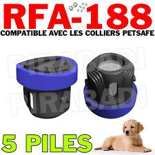 5 PILES COMPATIBLE PETSAFE RFA-188 3V LITHIUM 160mAh SB-188 - QUALITE GARANTIE