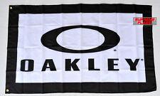 Oakley Flag Banner 3x5 ft Sunglasses Promotion Wall Garage