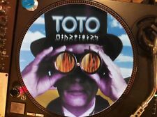"Toto ‎– Mindfields Mega Rare 12"" Picture Disc Promo Single Japan LP"