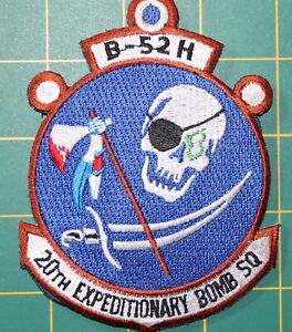 USAF Patch 2oth expeditionary Bomb Squadron B-52H