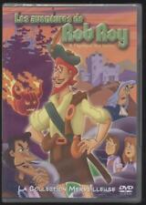 NUEVO DVD DIBUJOS ANIME Les Aventures Rob Roy 1H30 OCUPACIÓN NIÑOS en blist