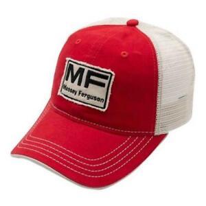 Massey Ferguson Vintage Logo Mesh Back Ball Cap Hat 03406C
