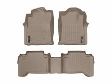 WeatherTech FloorLiner Mat for Toyota Tacoma Double Cab - 2005-2007- Tan