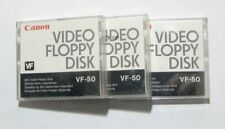 Used Lot of 3~ Canon VF-50 Video Floppy Discs
