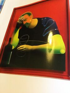 """ADAM NEATE """"DIMENSIONAL PAINTINGS"""" HARDCOVER BOOK & DVD Ltd Limited Edition 500"""
