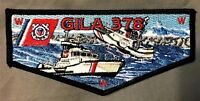 GILA OA LODGE 378 YUCCA COUNCIL TEXAS 66 78 PATCH US MILITARY COAST GUARD FLAP