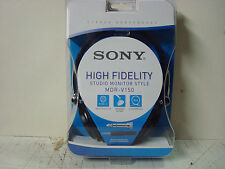 Sony MDR-V150 High Fidelity Studio Monitor Style Stereo Headphones. NEW. SEALED.